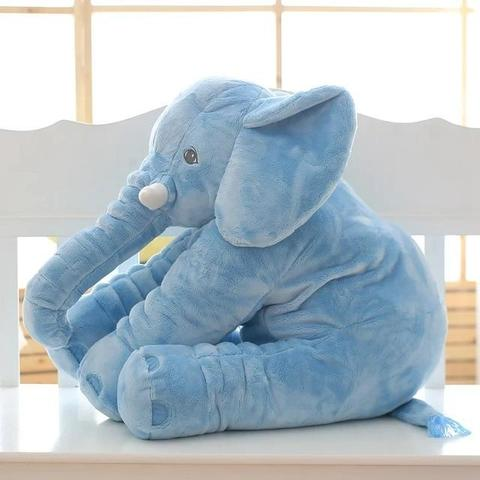 peluche almohada forma elefante